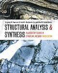 Structural Analysis And Synthesis A Laboratory Course in Structural Geology