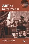 Art As Performance