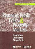 Planning, Public Policy & Property Markets