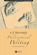 Philosophical Writing An Introduction