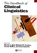 Handbook of Clinical Linguistics