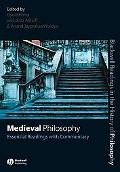 Medieval Philosophy Essential Readings With Commentary