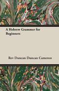 A Hebrew Grammer for Beginners