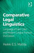 Comparative Legal Linguistics Latin and Modern Languages in Law-Related Communication
