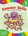 Summer Skills Daily Activity Workbook: Grade 1 (Flash Kids Summer Skills)