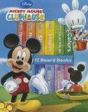 Mickey Mouse Clubhouse: 12 Board Books (Book-Block Series)