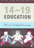 14-19 Education Policy, Leadership and Learning