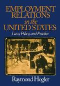 Employment Relations in the United States Law, Policy, and Practice