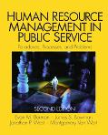Human Resource Management In Public Service Paradoxes, Processes, and Problems