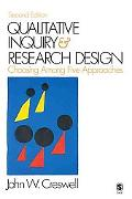 Qualitative Inquiry & Research Design Choosing Among Five Traditions