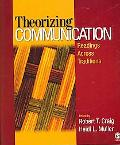 Theorizing Communication Readings Across Traditions