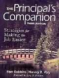 The Principal's Companion: Strategies for Making the Job Easier