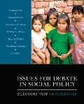 Issues for Debate in Social Policy: Selections From CQ Researcher