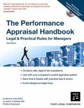 Performance Appraisal Handbook Legal & Practical Rules For Managers
