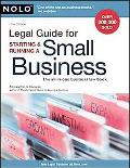 Legal Guide for Starting & Running a Small Business (Legal Guide for Starting and Running a ...
