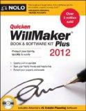 Quicken Willmaker Plus 2012 Edition: Book & Software Kit