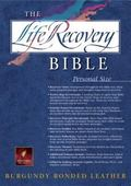 Life Recovery Bible New Living Translation, Personal Size Bonded