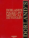 Dorland's Pocket Medical Dictionary with CD-ROM, 28e (Dorland's Medical Dictio