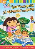 Learn With Dora!/-a Aprender Con Dora! A Bilingual Adventure With Pull-tabs, Wheels, And Flaps!