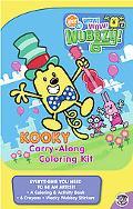 Kooky Carry-along Coloring Kit