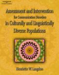 Assessment & Intervention for Communication Disorders in Culturally & Linguistically Diverse...