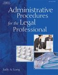 Administrative Procedures for the Legal Professional