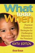 What to Do When Practical Guidance Strategies for Challenging Behaviors in the Preschool