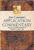 Jon Courson's Application Commentary Old Testament; Genesis-job