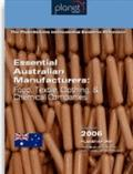 Essential Australian Manufacturers : Food, Textile, Clothing, and Chemical Companies
