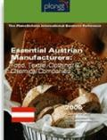 Essential Austrian Manufacturers : Food, Textile, Clothing, and Chemical Companies