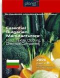 Essential Bulgarian Manufacturers : Food, Textile, Clothing, and Chemical Companies