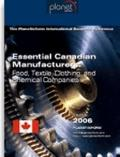 Essential Canadian Manufacturers : Food, Textile, Clothing, and Chemical Companies