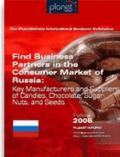 Find Business Partners in the Consumer Market of Russia : Key Manufacturers and Suppliers of...