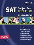 Kaplan Sat Subject Test Literature 2008-2009