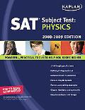 Kaplan Sat Subject Test, Physics 2008-2009