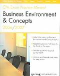CPA Exam Practice Manual Business Environment & Concepts 2006 / 2007