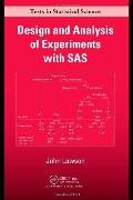 Design and Analysis of Expriments With Examples of Sas