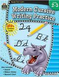 Modern Cursive Writing Practice, Grades 2-3