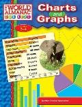 Charts and Graphs: From the World Almanac for Kids, Grades 3-4