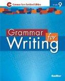 Grammar for Writing - Common Core Enriched Edition - Grade 9