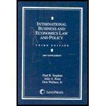 International Business and Economics Law 2007 Supplement