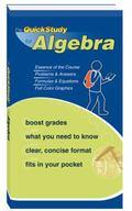 Quickstudy for Algebra