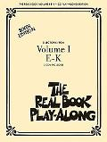 The Real Book Play-along - Volume 1 E-J: 3-CD Set