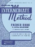 Rubank Intermediate Method - French Horn in F or Eb