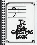 The Real Christmas Book: Bass Clef Edition (Fake Book)