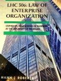 LHC 306 : Law of Enterprise Organization - Stephen M. Ross School of Business at the Univers...