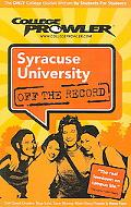 College Prowler Syracuse University Off the Record Syracuse, New York