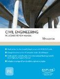 Civil Engineering PE License Review Manual - 18th Edition