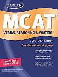 Kaplan MCAT Verbal Reasoning & Writing 2009-2010 Edition