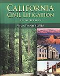 California Civil Litigation 5e
